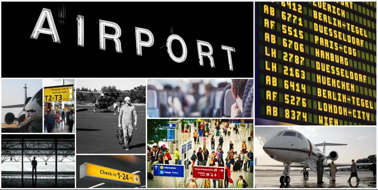 Air Transportation and Airports Banner